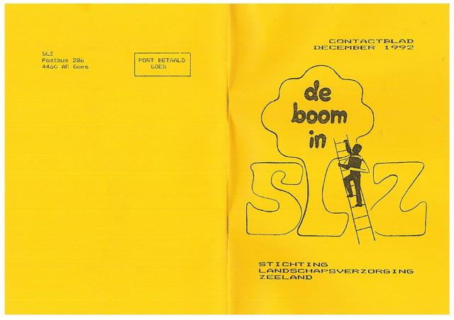 Landschapsbeheer Zeeland - de Boom in 1992-12-01