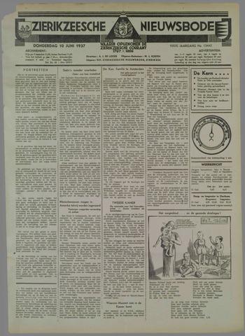 Zierikzeesche Nieuwsbode 1937-06-10