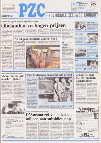 Provinciale Zeeuwse Courant 1990-07-28