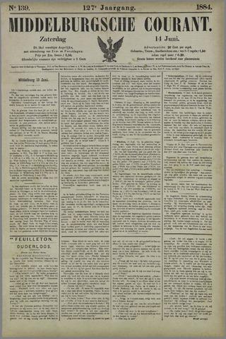 Middelburgsche Courant 1884-06-14