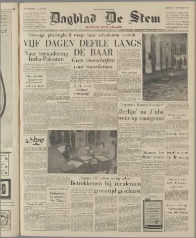 de Stem 1962-11-30