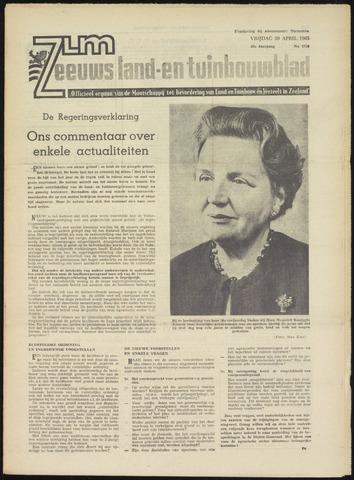 Zeeuwsch landbouwblad ... ZLM land- en tuinbouwblad 1965-04-30