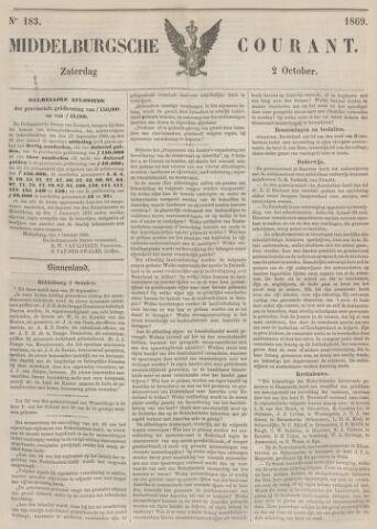 Middelburgsche Courant 1869-10-02