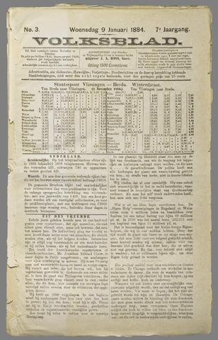 Volksblad 1884