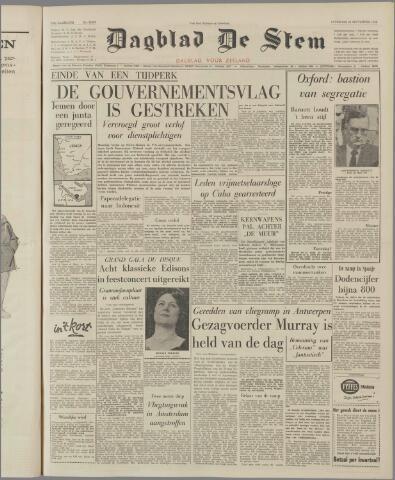 de Stem 1962-09-29