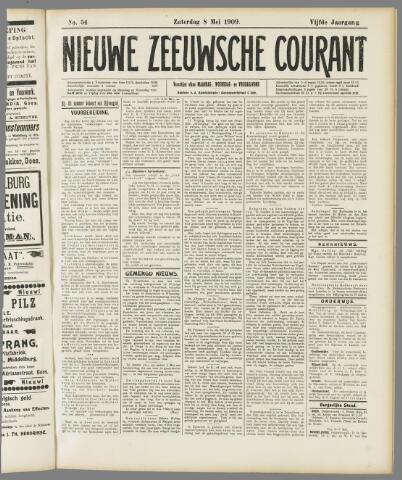 Nieuwe Zeeuwsche Courant 1909-05-08