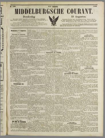 Middelburgsche Courant 1908-08-13