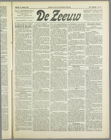 De Zeeuw. Christelijk-historisch nieuwsblad voor Zeeland 1934-01-30