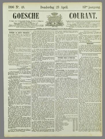 Goessche Courant 1896-04-23