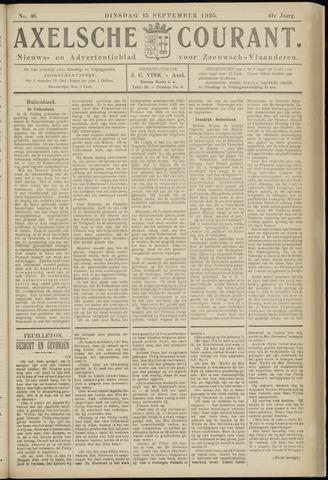 Axelsche Courant 1925-09-15