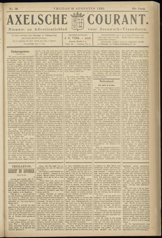 Axelsche Courant 1925-08-21