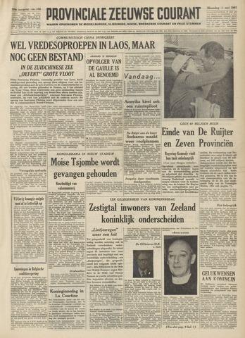 Provinciale Zeeuwse Courant 1961-05-01