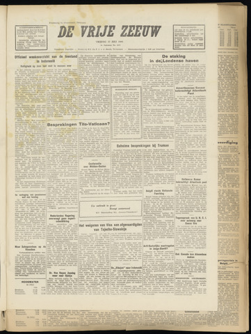 de Vrije Zeeuw 1949-07-22