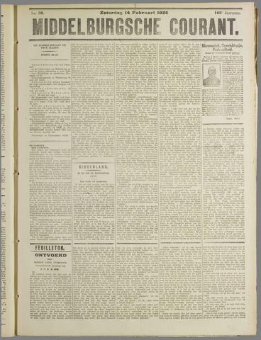 Middelburgsche Courant 1925-02-14