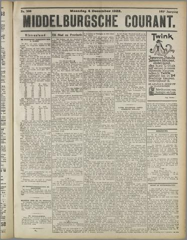 Middelburgsche Courant 1922-12-04