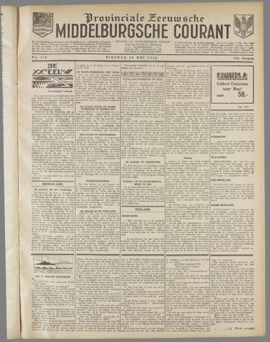 Middelburgsche Courant 1930-05-20
