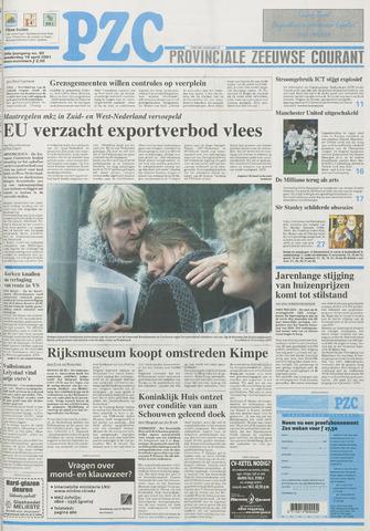 Provinciale Zeeuwse Courant 2001-04-19