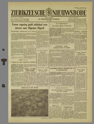 Zierikzeesche Nieuwsbode 1960-12-08
