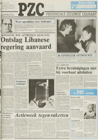 Provinciale Zeeuwse Courant 1984-02-06