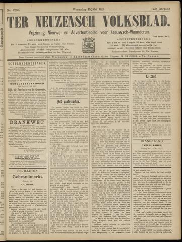 Ter Neuzensch Volksblad. Vrijzinnig nieuws- en advertentieblad voor Zeeuwsch- Vlaanderen / Zeeuwsch Nieuwsblad. Nieuws- en advertentieblad voor Zeeland 1912-05-15