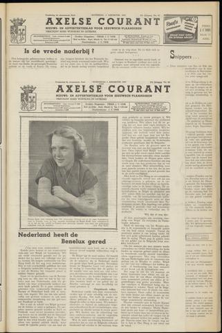 Axelsche Courant 1953-08-05