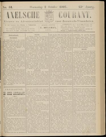 Axelsche Courant 1907-10-02