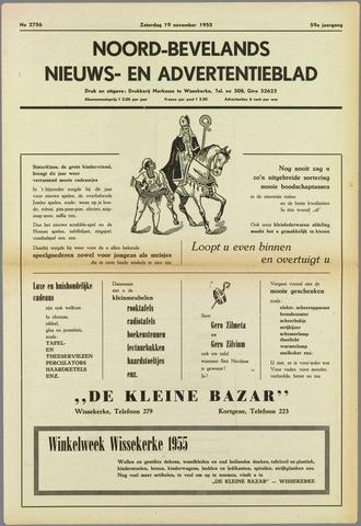 Noord-Bevelands Nieuws- en advertentieblad 1955-11-19