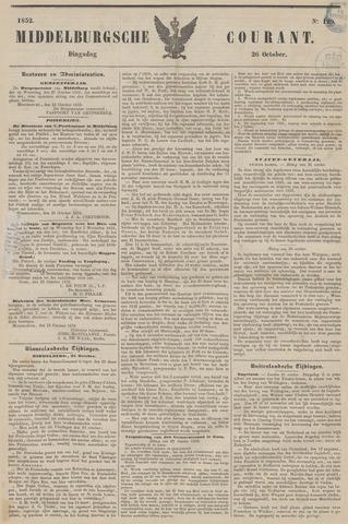 Middelburgsche Courant 1852-10-26