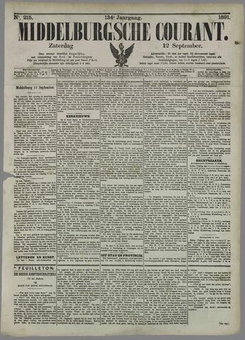 Middelburgsche Courant 1891-09-12