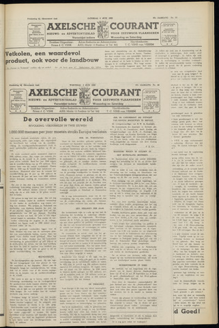 Axelsche Courant 1953-06-03