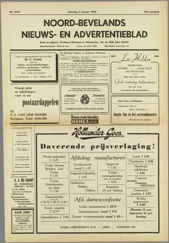 Noord-Bevelands Nieuws- en advertentieblad 1956-01-07