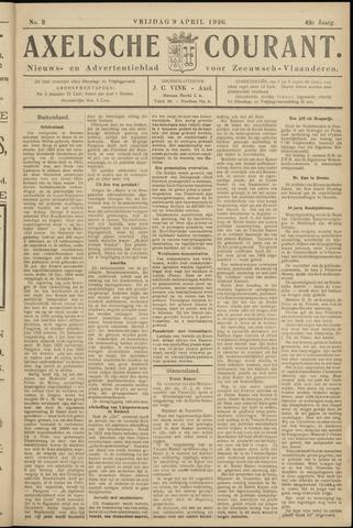 Axelsche Courant 1926-04-09