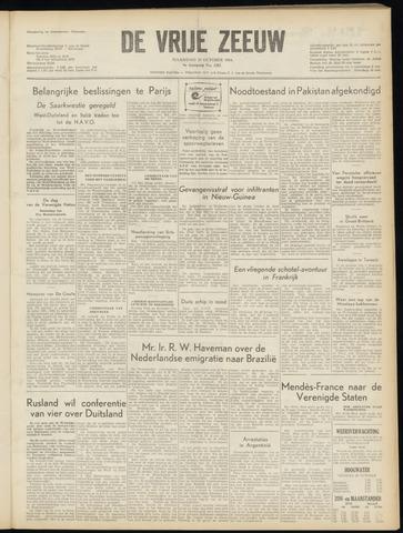 de Vrije Zeeuw 1954-10-25