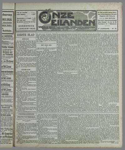 Onze Eilanden 1920