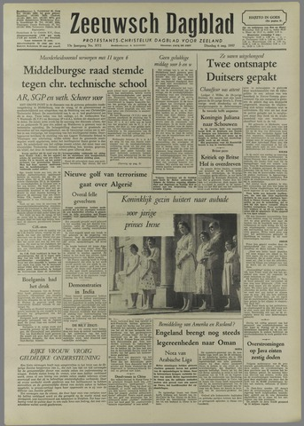 Zeeuwsch Dagblad 1957-08-06