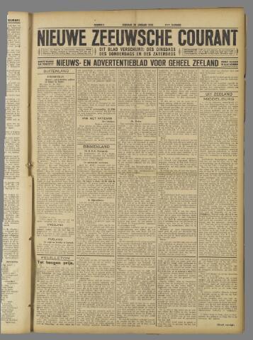 Nieuwe Zeeuwsche Courant 1925-01-20