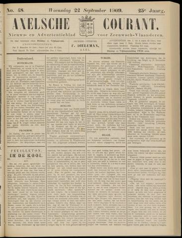 Axelsche Courant 1909-09-22