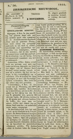 Zierikzeesche Nieuwsbode 1844-11-08