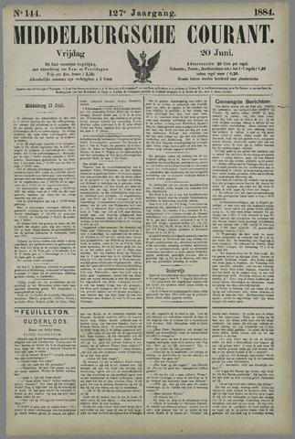 Middelburgsche Courant 1884-06-20