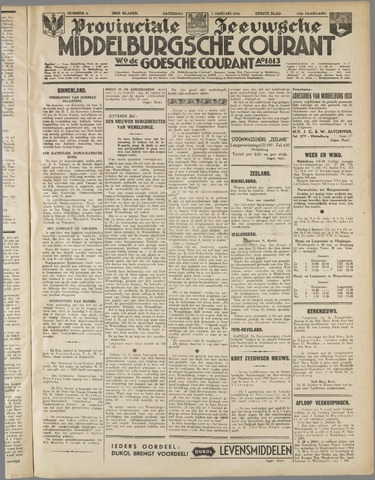 Middelburgsche Courant 1933-01-07