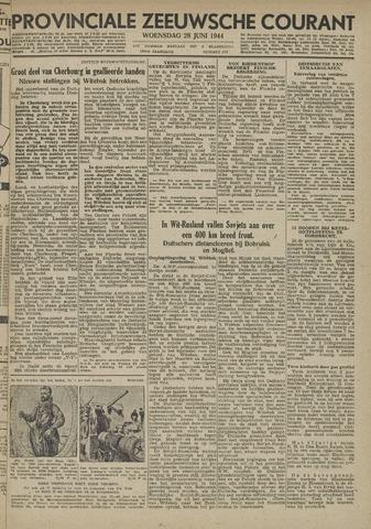 Provinciale Zeeuwse Courant 1944-06-28