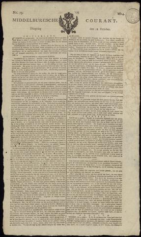 Middelburgsche Courant 1814-10-11