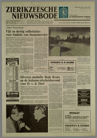 Zierikzeesche Nieuwsbode 1976-12-16