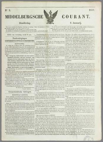 Middelburgsche Courant 1859-01-06