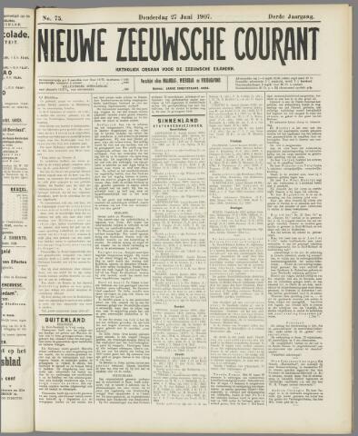 Nieuwe Zeeuwsche Courant 1907-06-27