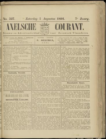 Axelsche Courant 1891-08-01