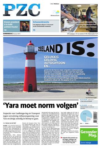 Provinciale Zeeuwse Courant 2015-01-29