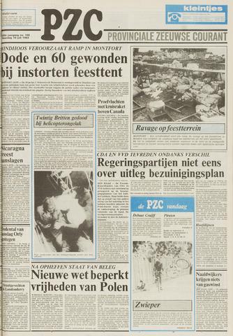 Provinciale Zeeuwse Courant 1983-07-18