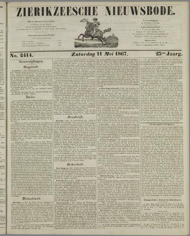 Zierikzeesche Nieuwsbode 1867-05-11