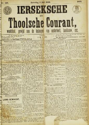 Ierseksche en Thoolsche Courant 1893-07-01